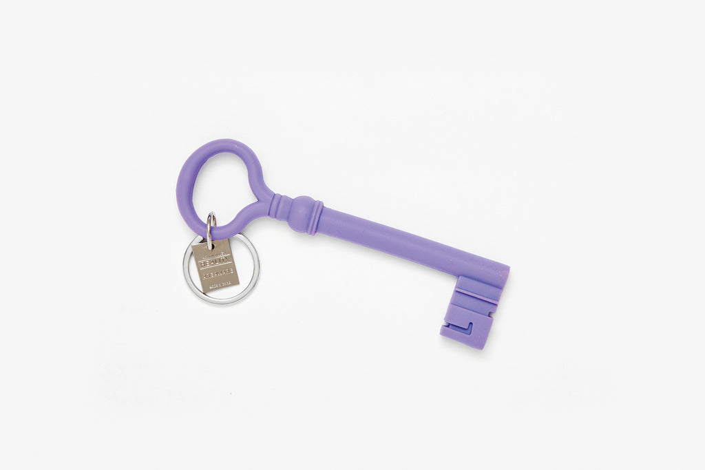 Lavender Reality Key Keychain design by Areaware