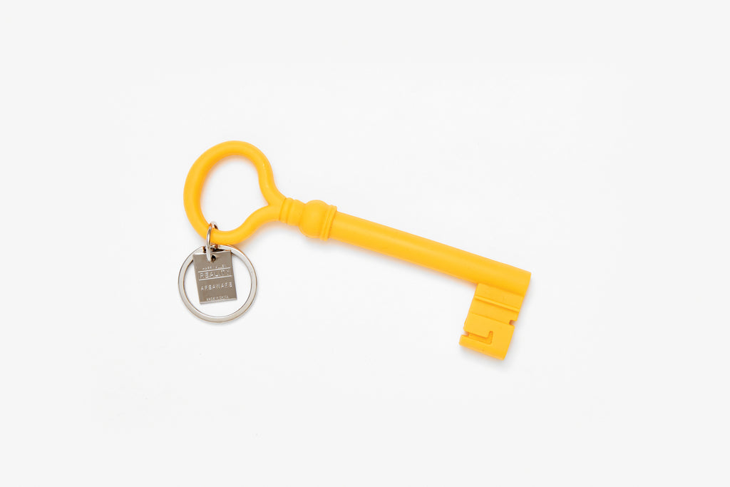 Mustard Reality Key Keychain design by Areaware