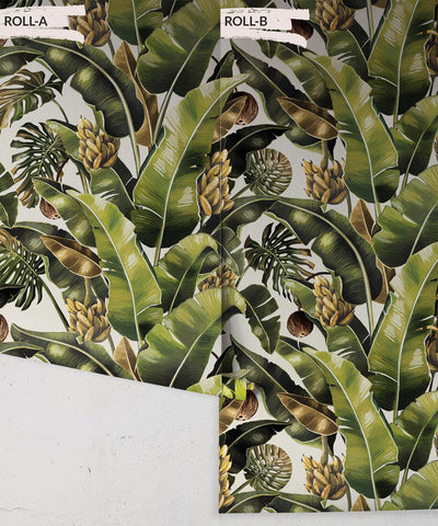 Kingdom Palm Wallpaper (Two Rolls) in Del Rio from the Kingdom Home Collection by Milton & King