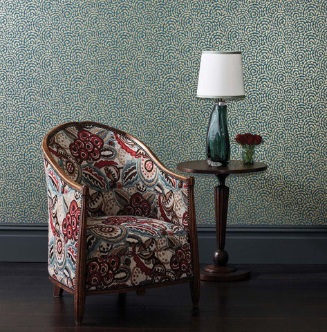 Kingsley Wallpaper from the Ashdown Collection by Nina Campbell for Osborne & Little