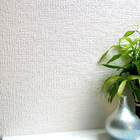 Sample Kingston Paintable Anaglypta Wallpaper design by Brewster Home Fashions