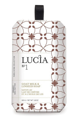 Lucia Goat Milk & Linseed Soap design by Lucia