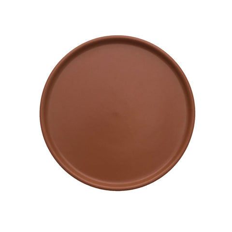 Inka Lunch/Dessert Plate, Pack of 2 - Caramel