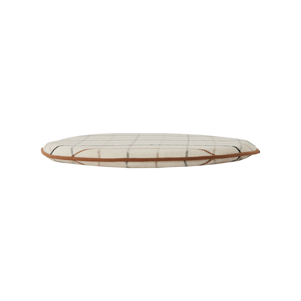 Grid Seat Cushion - Offwhite