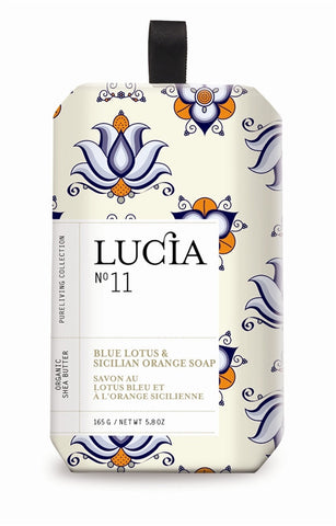 Blue Lotus and Sicilian Orange Soap design by Lucia