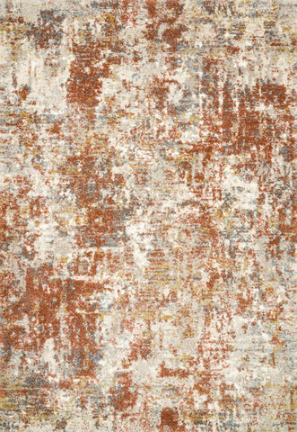 Landscape Rug in Rust by Loloi