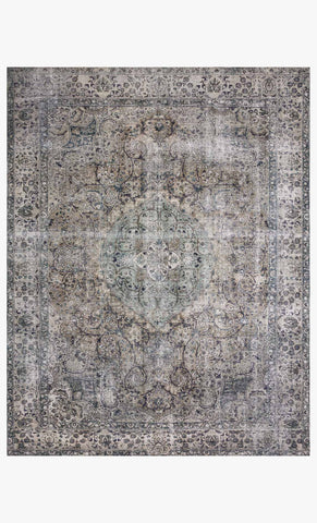 Layla Rug in Taupe & Stone by Loloi II