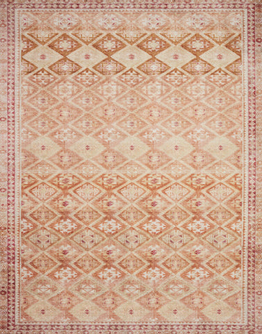 Layla Rug in Natural / Spice by Loloi II