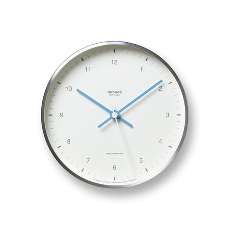 Mizuiro Wall Clock in White design by Lemnos