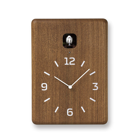 Cucu Wall Clock in Brown