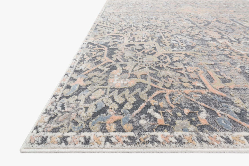Lucia Rug in Charcoal by Loloi II