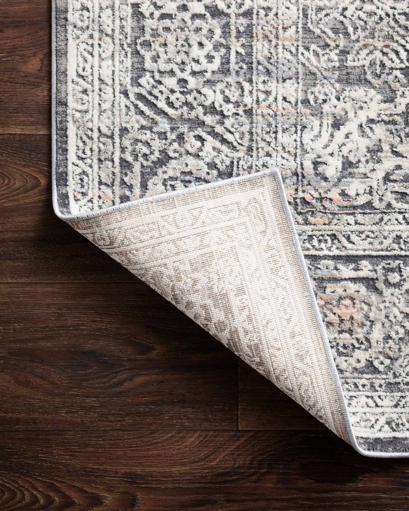 Lucia Rug in Steel & Ivory by Loloi II