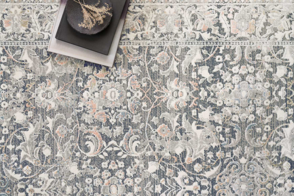 Lucia Rug in Grey & Mist by Loloi II