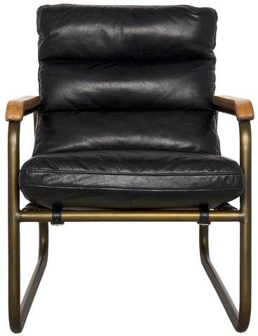 Cowhide Arm Chair by Noir