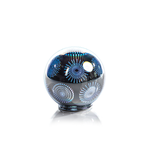 LED 3D Glass Balls, Set of 2