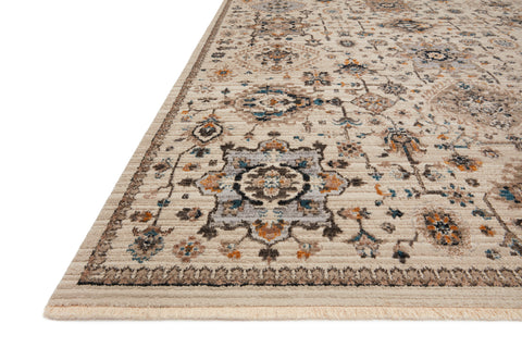 Leigh Rug in Ivory / Taupe by Loloi