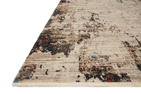 Leigh Rug in Ivory / Charcoal by Loloi