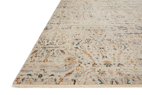 Leigh Rug in Ivory / Straw by Loloi