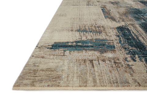 Leigh Rug in Slate / Denim by Loloi