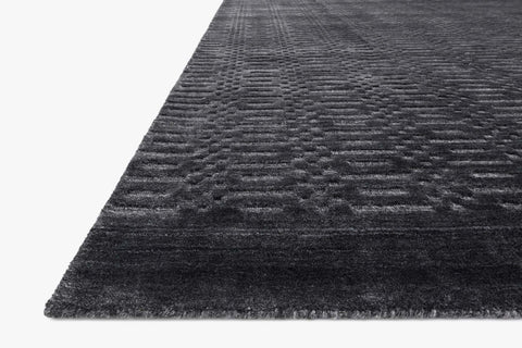 Lennon Rug in Charcoal by Loloi