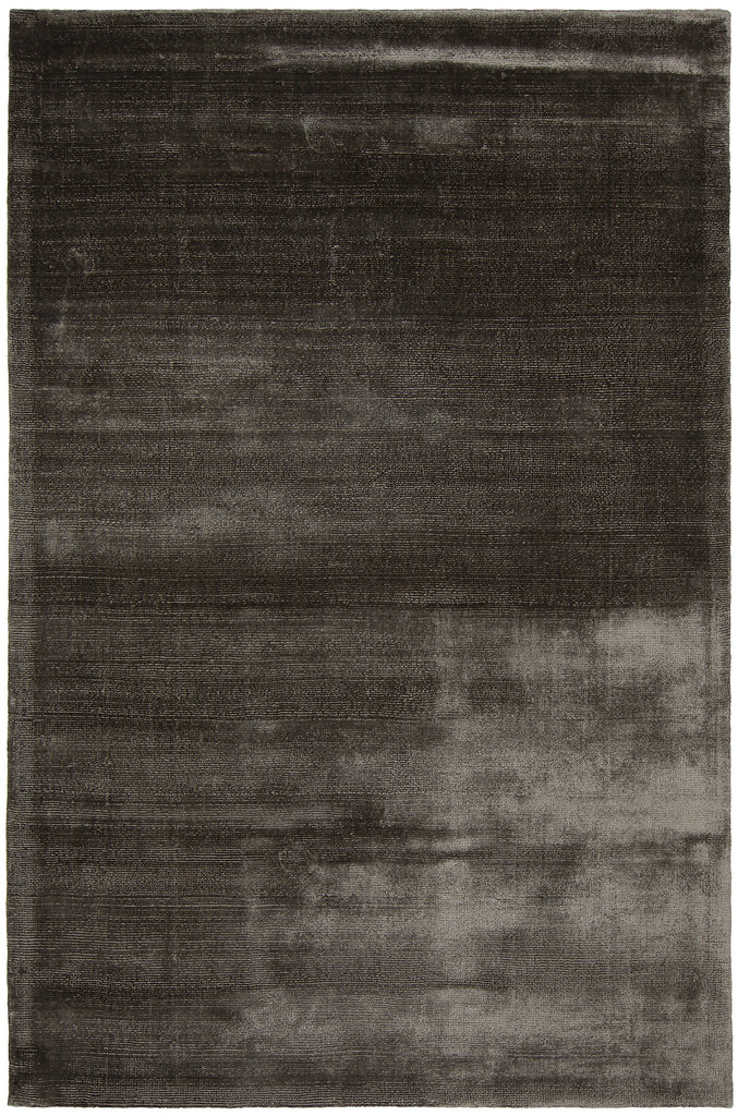 Libra Collection Hand-Woven Area Rug in Grey