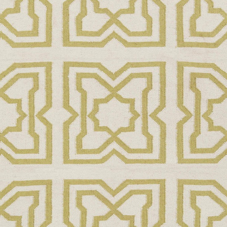 Lima Collection Hand-Woven Area Rug, Beige & Yellow design by Chandra rugs