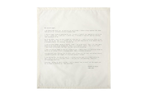 Edition No. 1 Set 2 Love Letters Set of 4 Napkins
