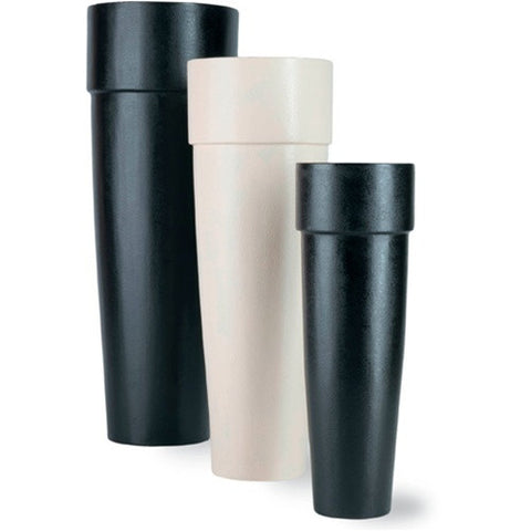 Long Tom Vase Planters in Black design by Capital Garden Products