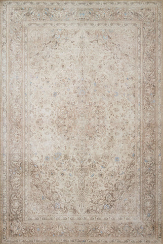 Loren Rug in Sand & Taupe by Loloi