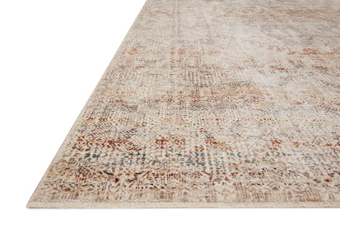 Lourdes Rug in Ivory / Spice by Loloi