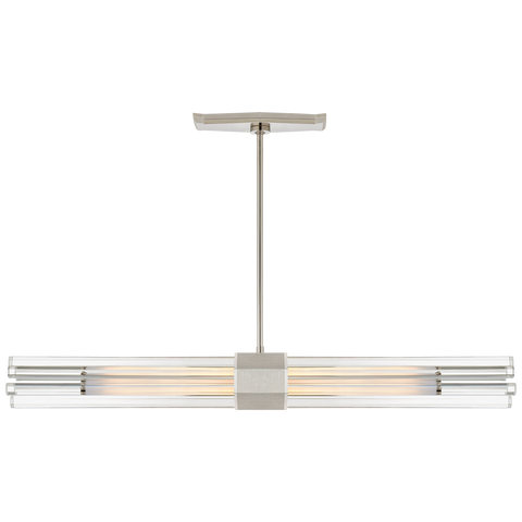 Fascio Medium Linear Chandelier by Lauren Rottet