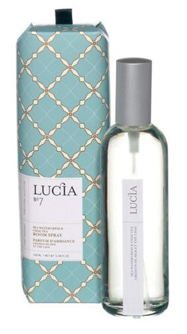 Lucia Sea Watercress and Chai Tea Aromatic Reed Diffuser design by Lucia