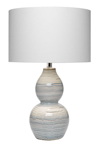 Catalina Wave Table Lamp design by Jamie Young