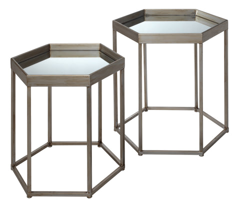 Sophia Set of 2 Side Tables design by Jamie Young