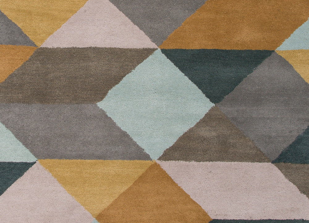En casa tufted rug in storm grey dragonfly design by for Gardening tools jaipur