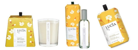 Lucia Tea Leaf & Wild Honey Gift Set design by Lucia