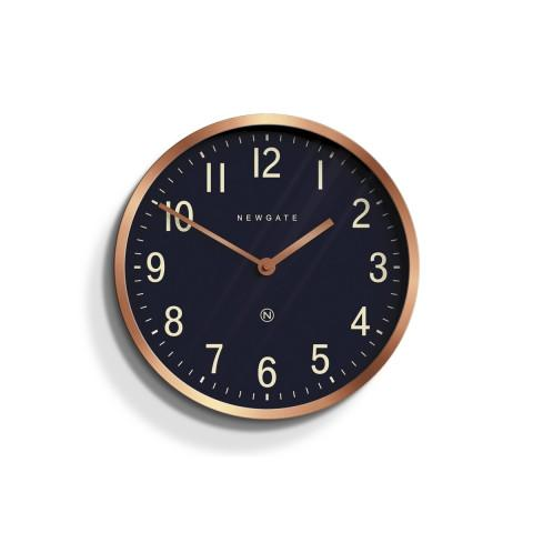 Master Edwards Wall Clock in Radial Copper
