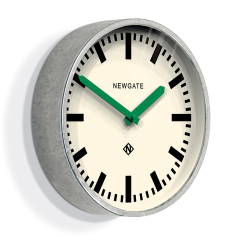 Luggage Clock in Green design by Newgate