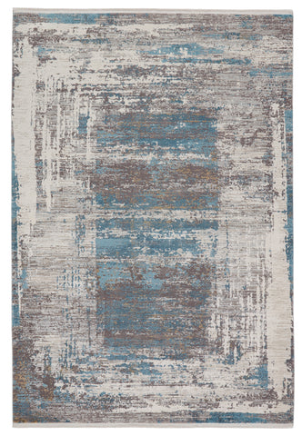 Rialto Abstract Blue & Grey Rug by Jaipur Living