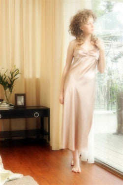 Amanda Silk Charmeuse Gown  design by Kumi Kookoon