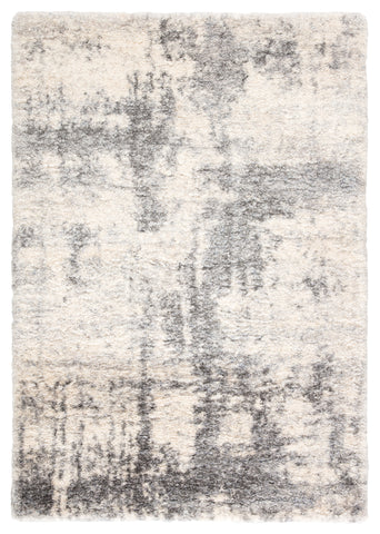 Serenade Abstract Ivory & Light Gray Area Rug