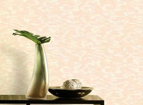 Laia Textured Shimmer Wallpaper in Metallic Cream by BD Wall