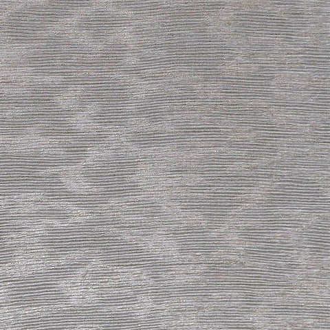 Laia Textured Shimmer Wallpaper in Metallic Grey by BD Wall