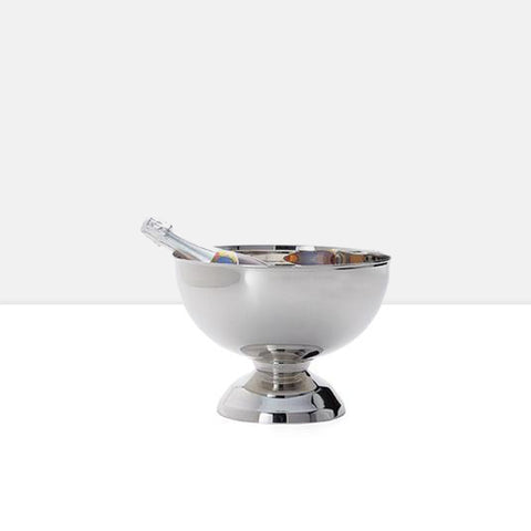 Landon Stainless Steel Punch Bowl Wine Chiller in Small