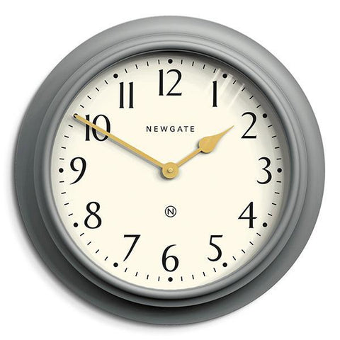 Westhampton Wall Clock In Posh Grey