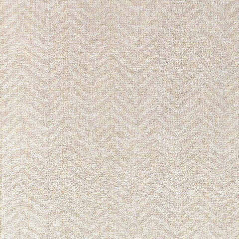Larissa Chevron Textured Wallpaper in Beige by BD Wall