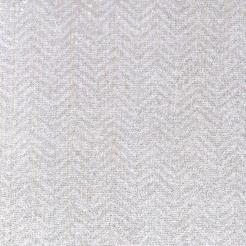 Larissa Chevron Textured Wallpaper in Grey and Neutrals by BD Wall