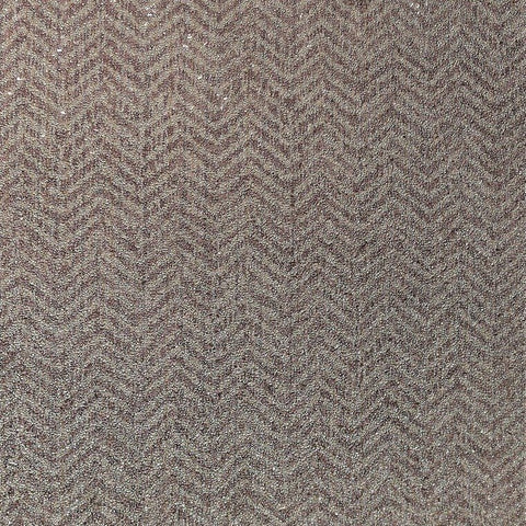 Larissa Chevron Textured Wallpaper in Plum and Neutrals by BD Wall