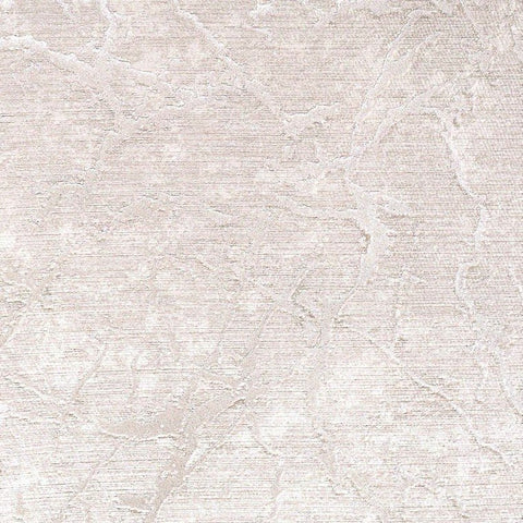 Laura Cracked Plaster Textured Wallpaper in Grey and Pearl by BD Wall