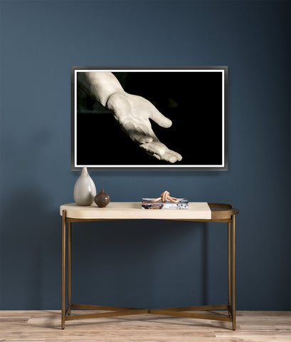Gesture Framed Photo